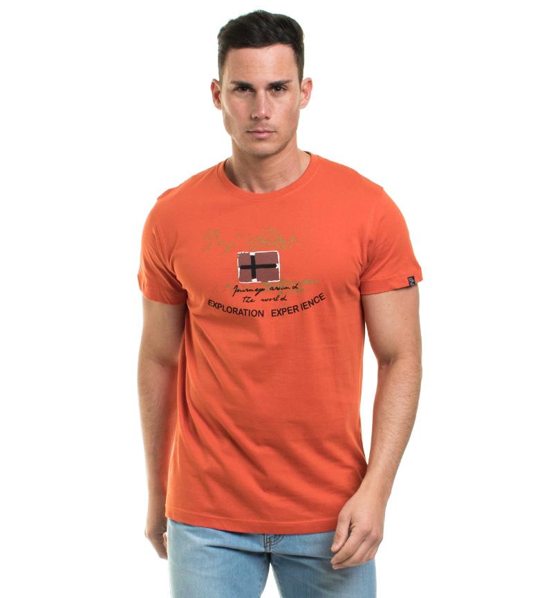 Taylor Vieille Chemise Orange, Albar