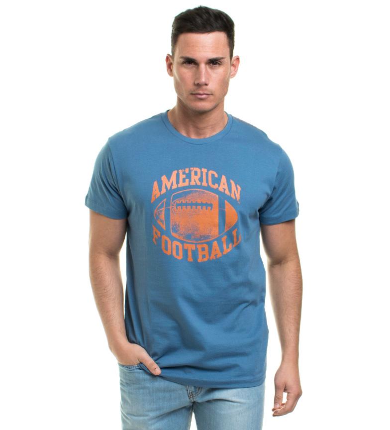 Vieux Taylor Mod Camiseta Azul