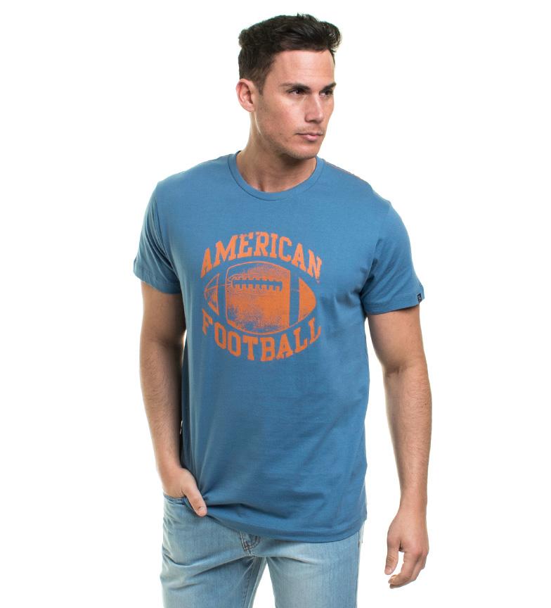 prix livraison gratuite débouché réel Vieux Taylor Mod Camiseta Azul vraiment en ligne confortable à vendre WioRV7r