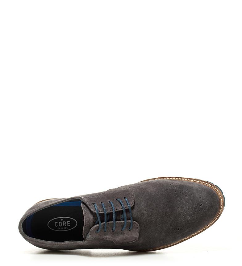 trouver une grande meilleur achat Murs Chaussures En Cuir Gris Angeles expédition rapide tc4dvWe