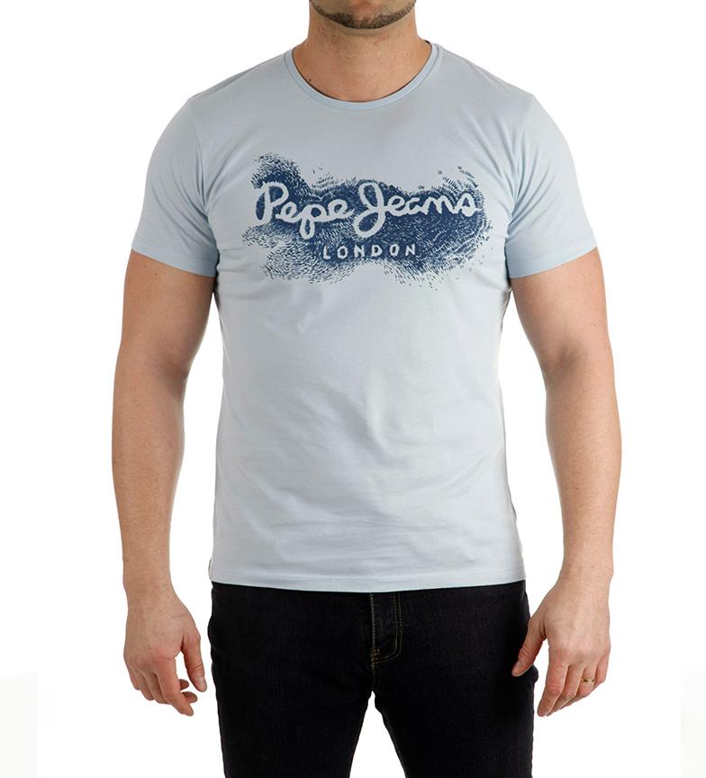 Babil Camiseta Celeste Pepe Jeans