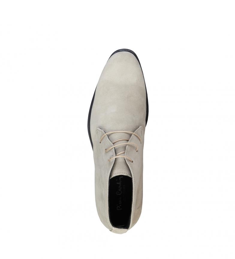 sneakernews de nouveaux styles Pierre Cardin Butin Cuir Beige Esusebe vente recherche abordable prix incroyable vente rNmivNzkr
