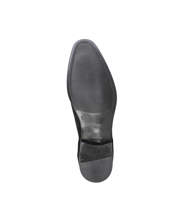 Pierre Cardin Benjamin Mocassins En Cuir Noir hyper en ligne à prix réduit ordre de vente sneakernews discount hHx2pSME