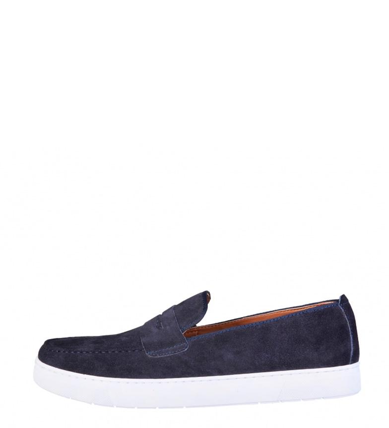 grande vente Pierre Cardin Chaussures En Cuir Bleu Alphonse dégagement 100% original hGxIuZLIZ4