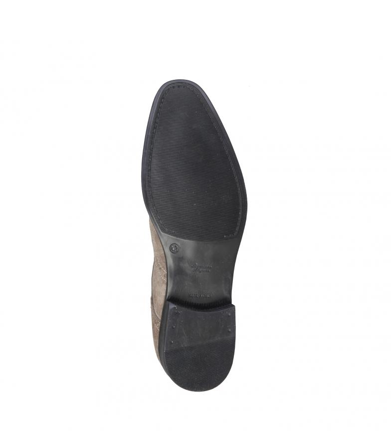 Pierre Cardin Chaussures En Cuir Taupe Ariel en Chine énorme surprise IMPcmwA