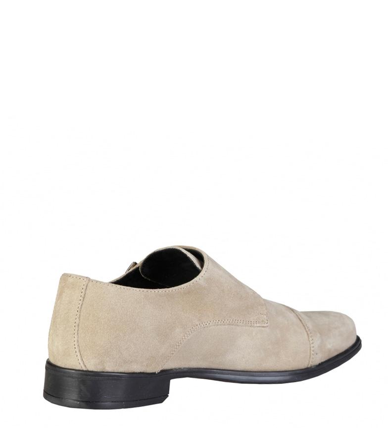 Pierre Cardin Chaussures En Cuir Beige Daniel Réduction édition limitée zi04V