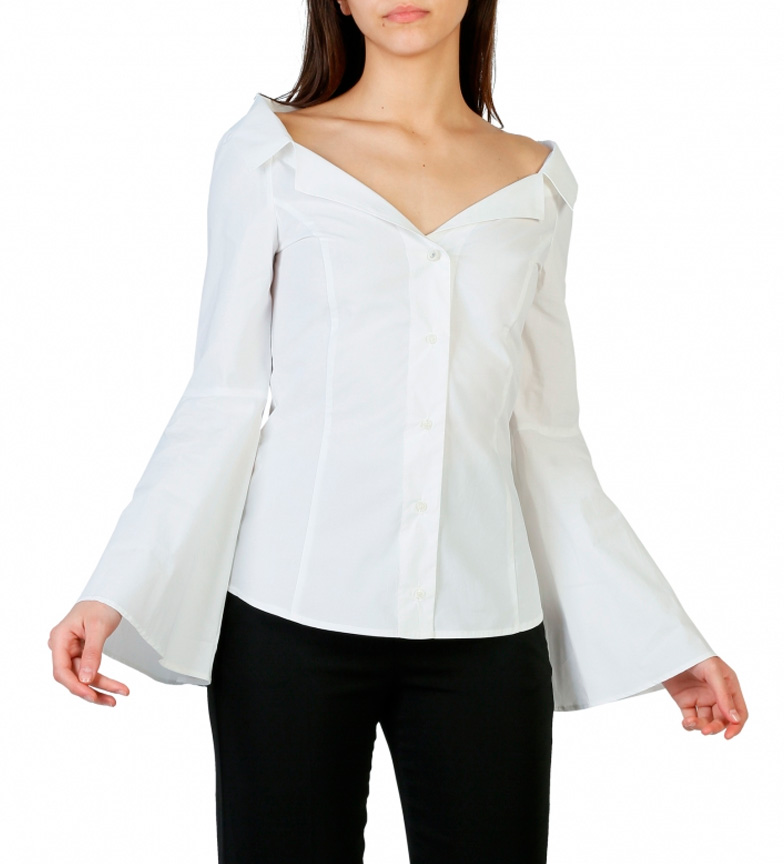 Chemise Blanche Pinko 1g12zo_y48f geniue réduction stockiste 2rC0SKqEqS