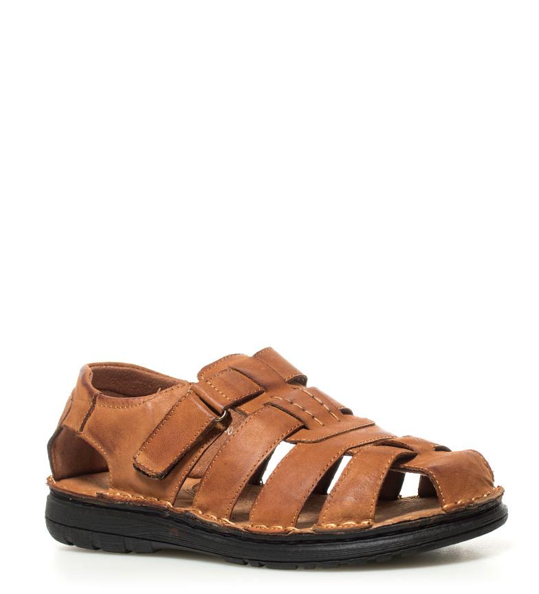 sortie d'usine Praylas Sandales En Cuir De Peau Iregua style de mode offres à vendre Commerce à vendre UNV6gRtc4D