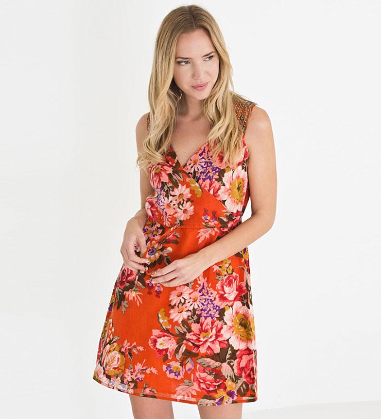boutique Riverside Medialuna Robe Orange jeu énorme surprise 8R4IJi3O0