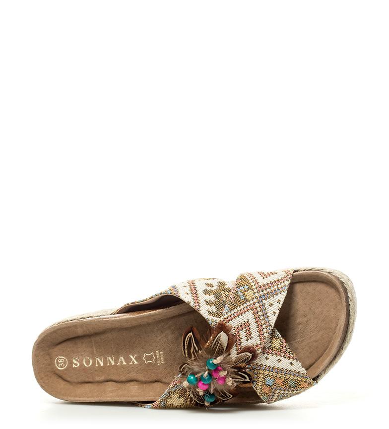 Sonnax Sandales Beige Hauteur De Plate-forme Sadie: 5cm Footlocker à vendre eIjNn