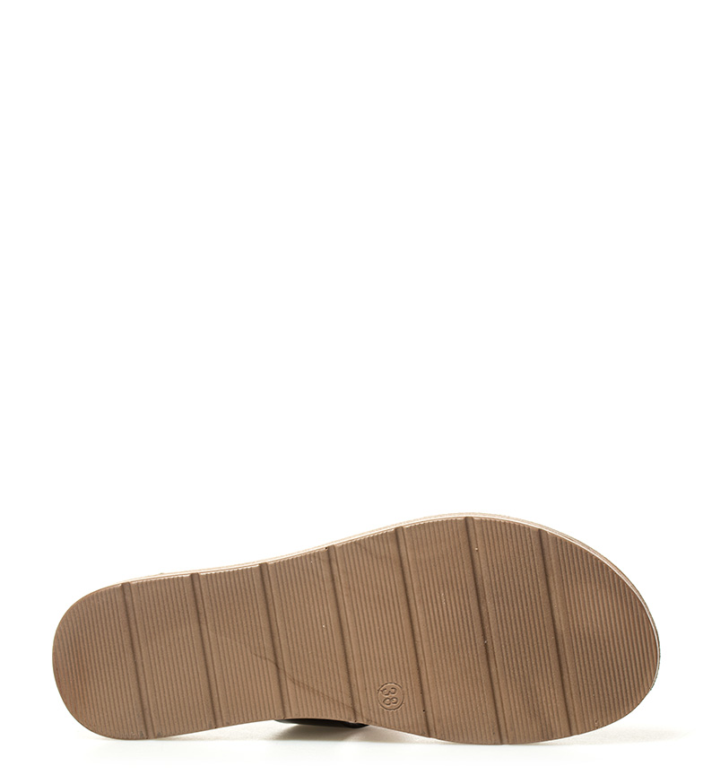 point de vente Sonnax Sandales Noires De Geno coût de sortie classique sortie PCP9NTn