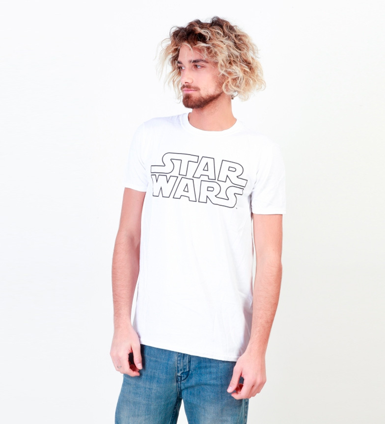 Star Wars Guerres Camiseta Étoiles De Gris