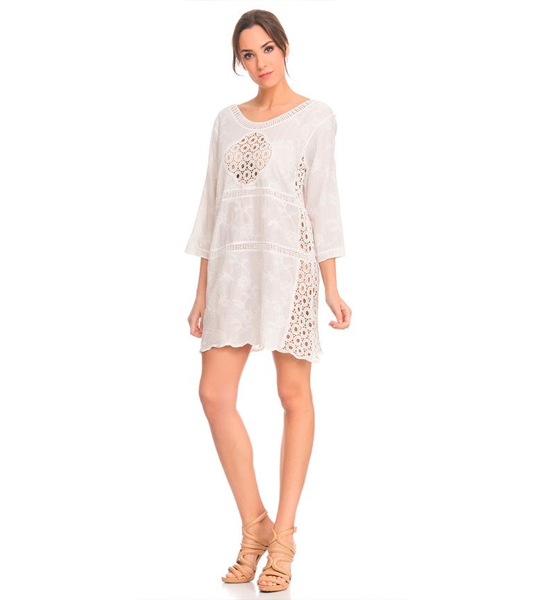 Tantra Blanc Robe De Batiste classique à vendre prix discount Peu coûteux faux rabais vente visite nouvelle 5CPLc