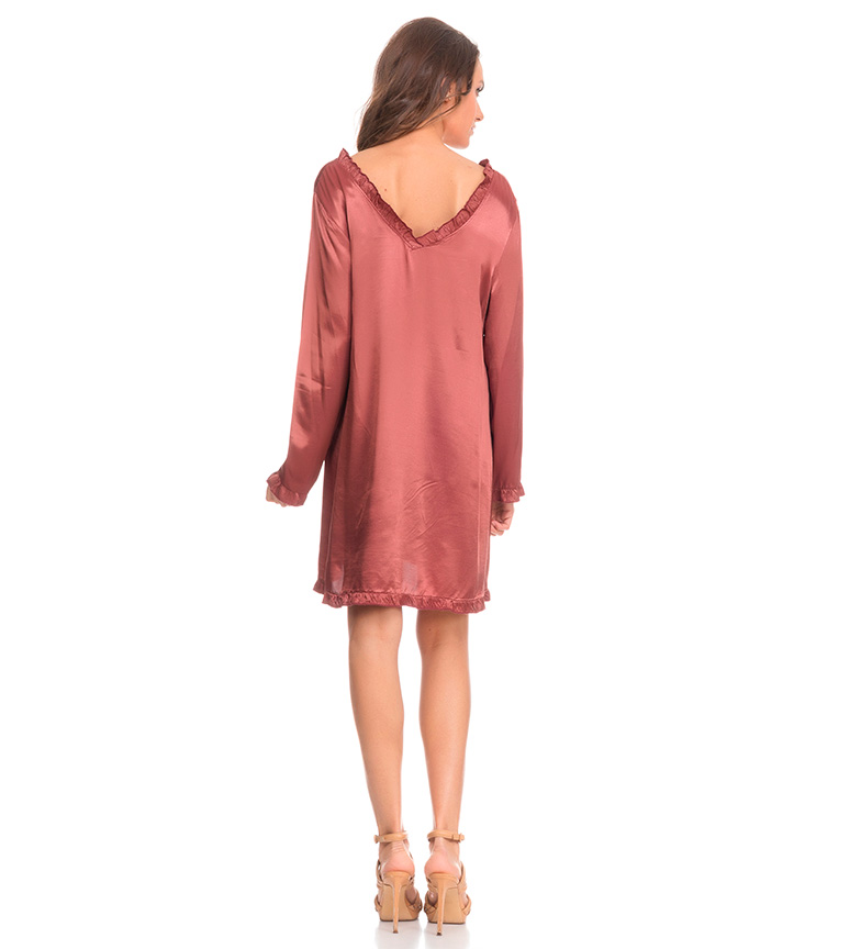 Tantra Robe De Satin De Cuivre sortie combien magasin en ligne ziZRaq7i