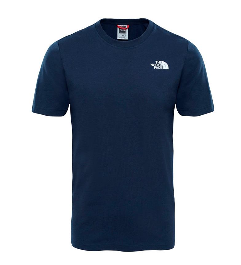 La Face Nord De Camiseta Algodn Redbox Tee Marino plein de couleurs Y5zNEYTxEz