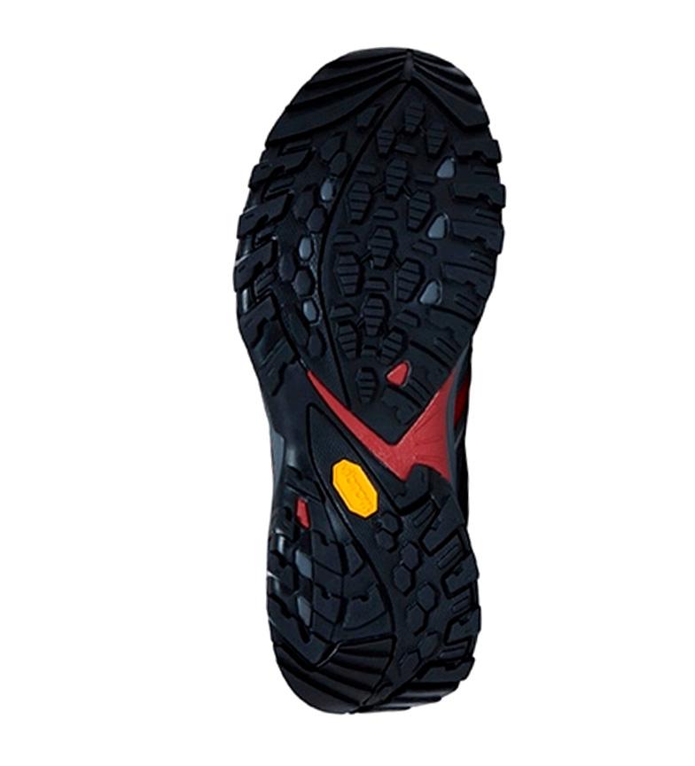 La Zapatillas Face Nord Hérisson Fastpack Gris, Rojo / Gore Tex / 850g