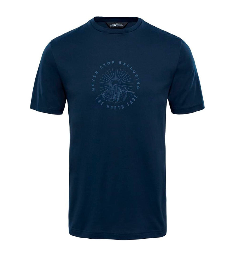 La Face Nord Camiseta Tansa Marino confortable à vendre énorme surprise prix d'usine QOqRTWR4