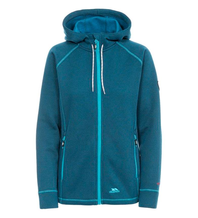 Trespass Veste Sweat Turquoise Whirlwind At300-