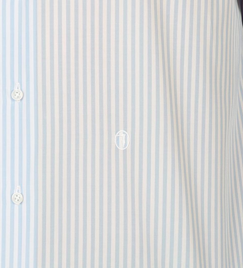 Rayas Chemise Bleu Trussardi meilleur jeu vente grande remise magasin de vente I31SlxZ33h