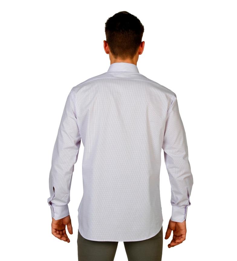 Trussardi Camisa M / L Blanco Footaction en ligne meilleur prix faux KrcOya