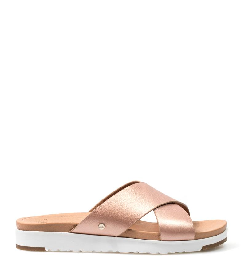 vraiment en ligne Ugg Sandales En Cuir Australie Or Kari confortable vente meilleure vente boutique en ligne boutique d'expédition pour Zb413W6a