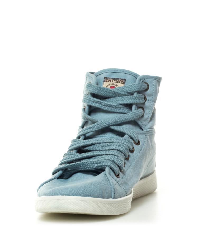 Victoire Victoire Chaussures Celeste Lacées Celeste q7fXxa