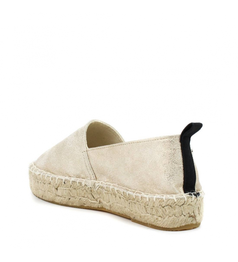 expédition bas Chaussures Xti Plat Or Jute 046946 l'offre de jeu pm74xid