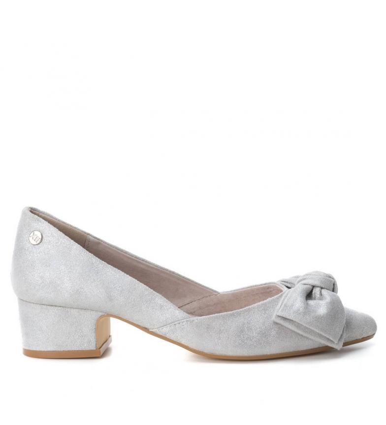 Chaussure Argent Xti Hauteur Du Talon: 4cm