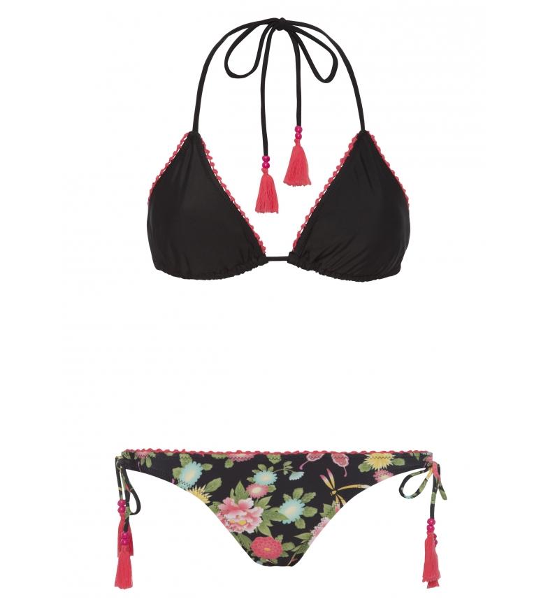 Negro Bikini Yshey Gina Amina Livraison gratuite recommander AG63Z