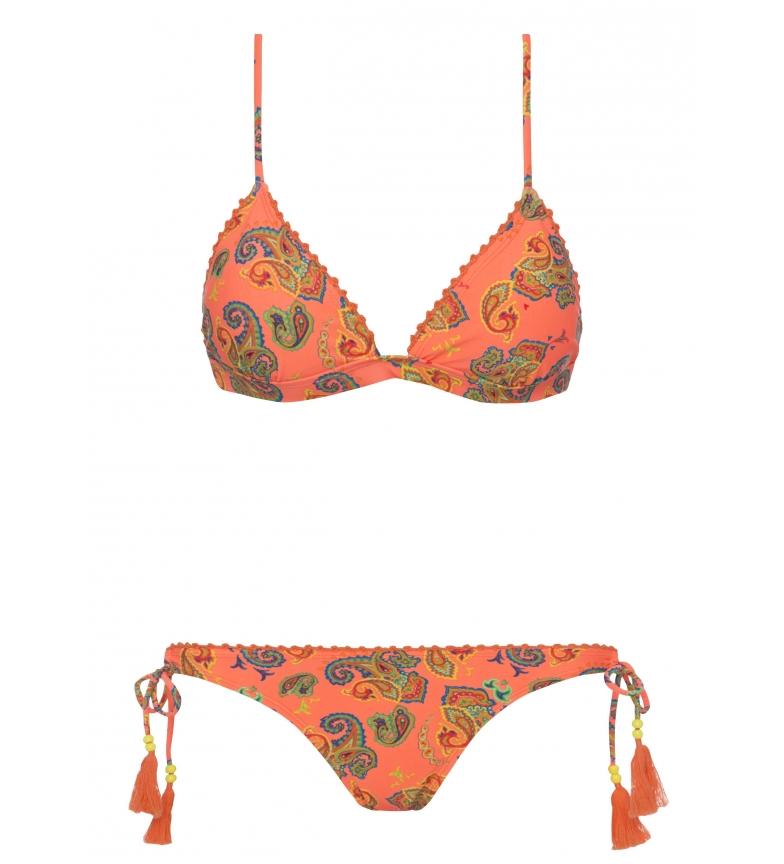 Bikini Yshey Sarah Néon Oahu Naranja réductions professionnel gratuit d'expédition moins cher jeu Finishline rJITNu