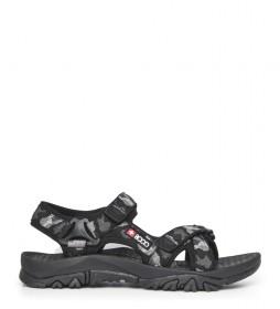+ 8000 Tatay trekking sandálias preto, branco