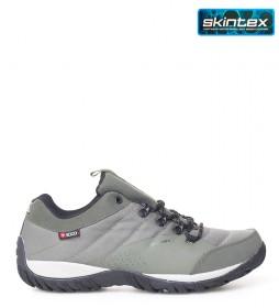 + 8000 Zapatilla trekking Tamal kaki -Membrana waterproof Skintex-