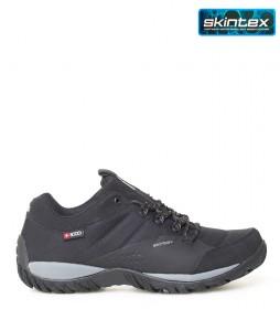 + 8000 Zapatilla trekking Tamal negro -Membrana waterproof Skintex-