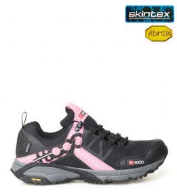 + 8000 Talca W trail shoes black, pink -Membrana waterproof Skintex
