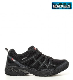 + 8000 Zapatillas trekking / hiking Topar negro -Membrana waterproof Skintex-