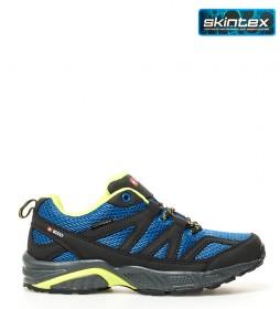 + 8000 Zapatillas trekking Tader 17I azul, lima-Membrana waterproof Skintex-