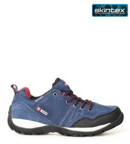 + 8000 Zapatillas trekking Tasmu 19V marino -Membrana waterproof Skintex-
