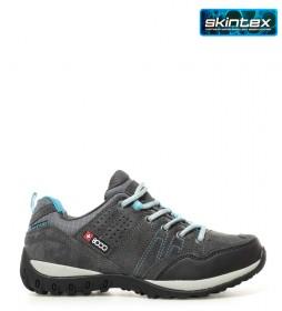 + 8000 Zapatillas trekking Tasmu gris medio -Membrana waterproof Skintex-