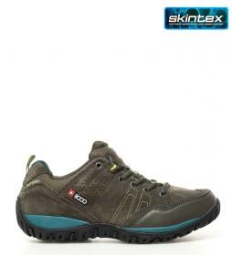 + 8000 Zapatillas trekking Tasmu kaki -Membrana waterproof Skintex-