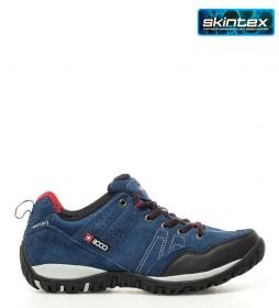 + 8000 Zapatillas trekking Tasmu marino -Membrana waterproof Skintex-