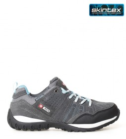 + 8000 Tasmu W 19V trekking shoes grey -Membrana waterproof Skintex