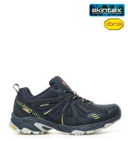 + 8000 Zapatillas trekking Telmo marino -Membrana waterproof Skintex-