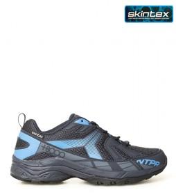 + 8000 Zapatillas trekking Tosca marino  -Membrana waterproof Skintex-