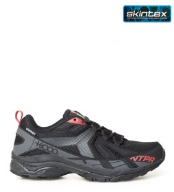 + 8000 Tosca trekking shoes black -Membrana waterproof Skintex