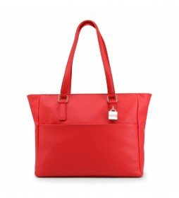 Bolso de hombro RAMORA-VBS3XS02 rojo -46x28x12.5cm-