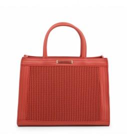 Bolso de mano JARVEY-VBS3XQ04 rojo -32.5x27x14cm-