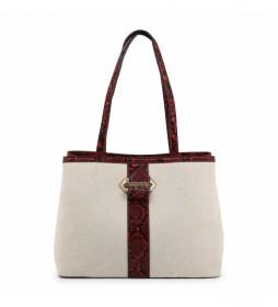 Bolso Shopping Bag GIGANTE-VBS3XP01 beige 33x26x14cm-