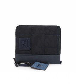 Bolso de mano TICINESE_71B00105-98 azul -22.5x26x3.5cm-