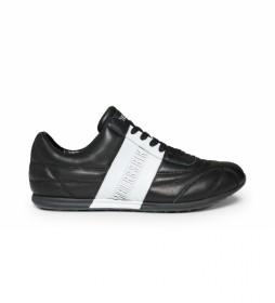 Zapatillas de piel  Barthel B4BKM0111 negro