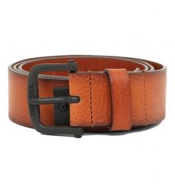 Cinturón de piel B-Dizel marrón